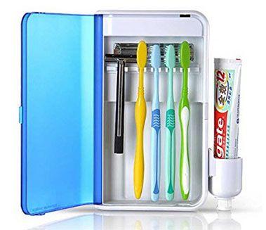 歯ブラシ用の除菌器