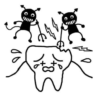 虫歯の原因は・・・